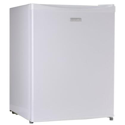 Sanyo SRA2480W Series Compact Refrigerator with 2.4 cu. ft. Capacity in White