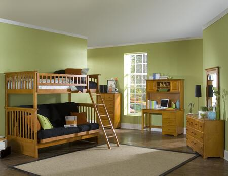 Atlantic Furniture COLTFUWH Childrens Futon