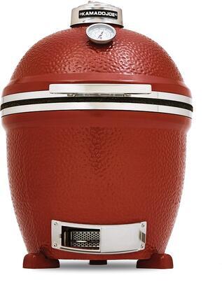 Kamado Joe KJ23NRSH Portable Charcoal Grill, in Red