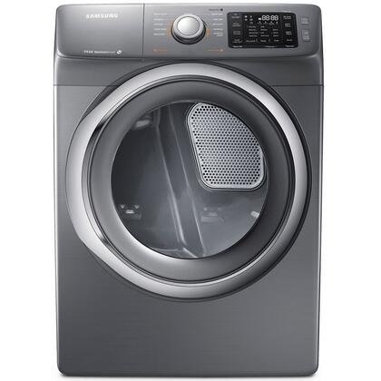 Samsung Appliance DV42H5200G 7.5 cu. ft. Gas Dryer with 11 Drying Cycles, Sensor Dry, Reversible Door and Dryer Drum Light in