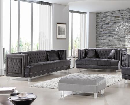 Meridian 6092PCSTLKIT2 Lucas Living Room Sets