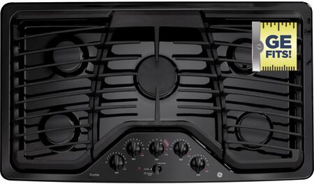 """GE Profile PGP976 36"""" Built-In Gas Cooktop"""