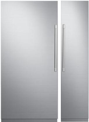 Dacor 867810 Modernist Side-By-Side Refrigerators