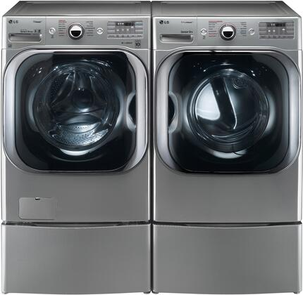 LG LG4PCFL29SSE2PEDKIT1 Washer and Dryer Combos