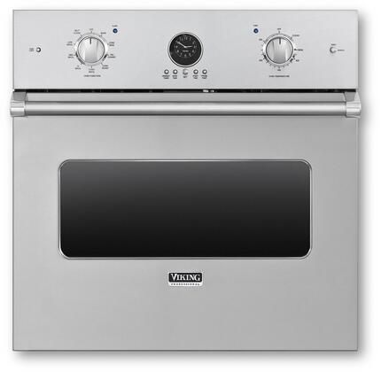"Viking VESO5302 30"" Professional 5 Series Electric Single Wall Oven with 4.7 cu. ft. Capacity, Convection, Infrared Broiler, Full Extension Racks, Rapid Preheat and Self-Clean, in"