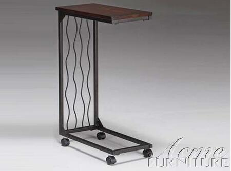 Acme Furniture 8004 Paco Sofa Table w/Marble Top: