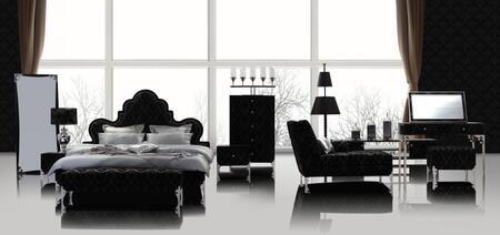 VIG Furniture VGSLEPRAGUEQ4PCSET Modrest Prague Beds