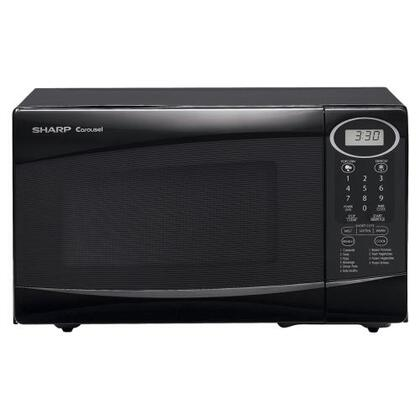 Sharp R209KK Countertop Microwave, in Black