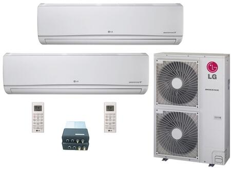 LG 704599 Dual-Zone Mini Split Air Conditioners
