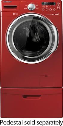 Samsung Appliance WF331AN 3.7 Cu. Ft. 9-Cycle Ultra Capacity Front Load High-Efficiency Washer, Noise Reduction, Water Efficiency, Energy Star Qualified: