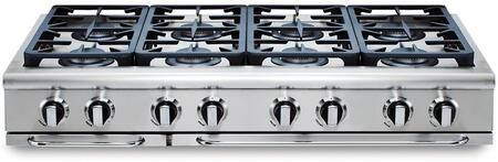 """Capital GRT488N 48"""" PRECISION Series Gas Sealed Burner Style Cooktop"""