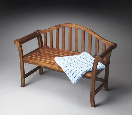 Butler 1238279 Accent  Wood Not Upholstered Bench