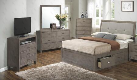 Glory Furniture G1205BQSBDMTV G1205 Bedroom Sets