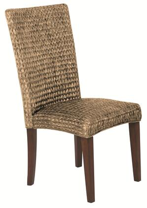 "Coaster Westbrook 22.75"" Dining Side Chairs with High Back Woven Construction, Cushioned Seating and Tapered Legs in"