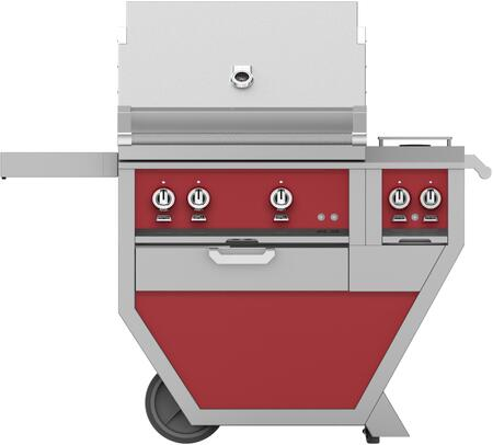 48 in. Deluxe Grill with Side Burner   Matador