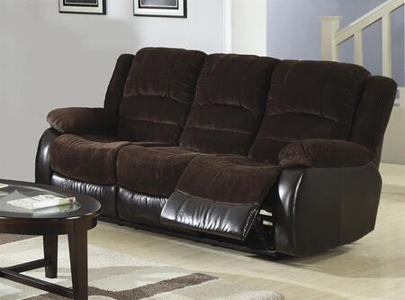 Coaster 600363S  Reclining Fabric Sofa