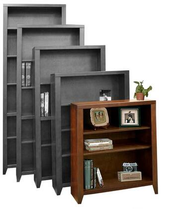 Legends Furniture UL6636MOCUrban Loft Series Wood 3 Shelves Bookcase