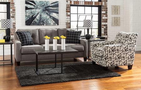 Milo Italia MI9881QSBWBACCHAR Lorena Living Room Sets