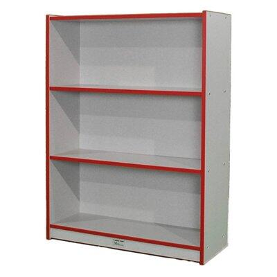 Mahar M48SCASEDG  Wood 3 Shelves Bookcase