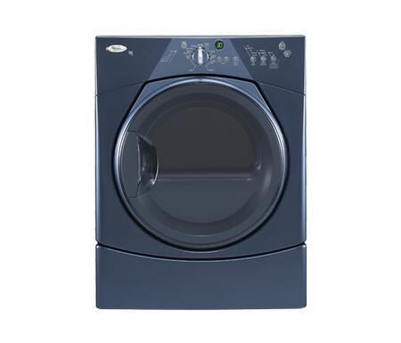 Whirlpool WED8300SE Duet Series Electric Dryer, in Blue