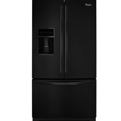 "Whirlpool WRF736SDA 36"" ADA Compliant, Energy Star French Door Refrigerator with 25 cu. ft. Capacity, MicroEdge Shelves, FreshFlow Produce Preserver and FreshFlow Air Filter, in"