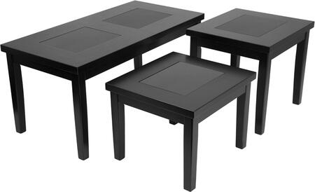 Denja 3 Piece Occasional Table Set