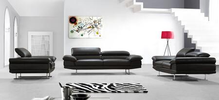 VIG Furniture VG2T0876BRN Modern Leather Living Room Set