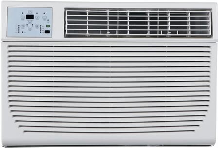 "Impecca ITACxKSx21 25"" Energy Star Through the Wall Air Conditioner with  Cooling BTU,  sq. ft. Cooling Area, 24 Hour Timer, Auto Restart, Energy Saver and Remote Control, in White"