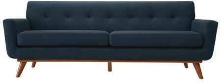 EdgeMod EM229WALMBLU Mari Series Stationary Polyester Sofa