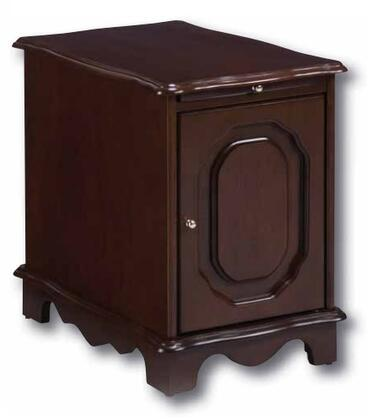Powell 844  MDF Rectangular None Drawers End Table