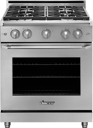 Dacor Hger30sng Heritage Series 30 Inch Stainless Steel Gas Convection Freestanding Range