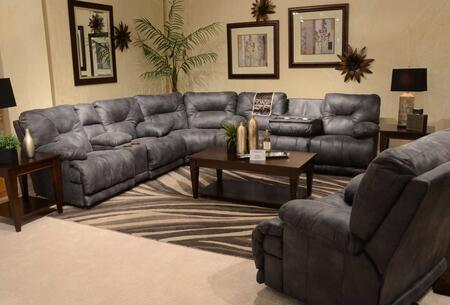 Catnapper 4381122853302853SEC Voyager Sectional Sofas