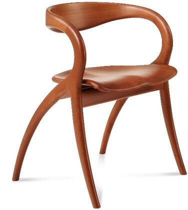 Domitalia STARNCA04 Star Series  Wood Frame Dining Room Chair