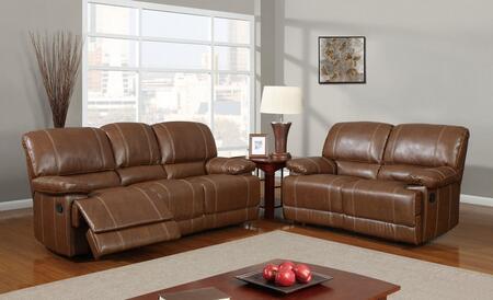 Global Furniture USA U9963RodeoBrownSL Living Room Sets