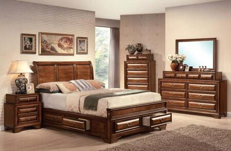 Acme Furniture 20450Q5PCSET Konane Queen Bedroom Sets