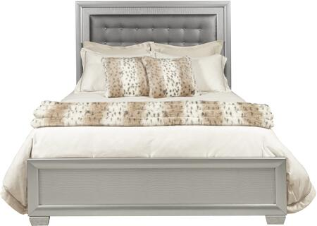 Samuel Lawrence 89602707100 Celestial Series  King Size Panel Bed