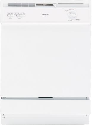"Hotpoint HDA3600DWW 24"" Built In Full Console Dishwasher"