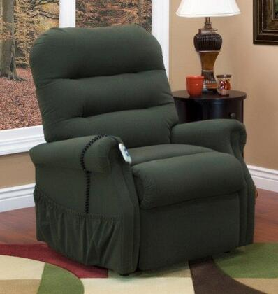 MedLift 3053WAAH Contemporary Fabric Wood Frame  Recliners