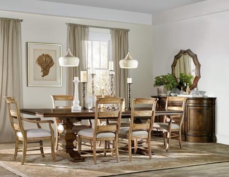 Hooker Furniture 5447TOFFEETT3AC3SC