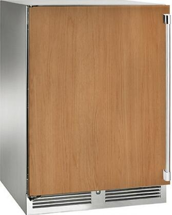 """Perlick HP24CS32x 24"""" Signature Series Indoor Compact Refrigerator with Rapidcool Forced Air Refrigeration System, 995 BTU Commercial Grade Speed Compressor and Stainless Steel Interior, in Panel Ready with"""