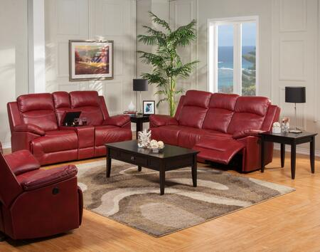 New Classic Home Furnishings 2224432REDSLR Cortez Living Roo