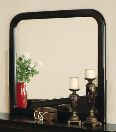 Yuan Tai 3786MCHY Louis Philippe Series Rounded Portrait Dresser Mirror