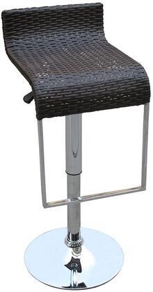 Modway EEI618DBR Lem Series  Metal Frame  Patio Chair