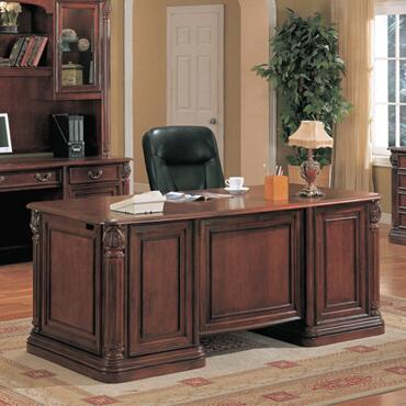 Yuan Tai TC6660D Tucson Series Executive Desk  Desk