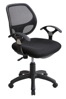 "RTA Products RTA0097MBK 22.5""  Office Chair"
