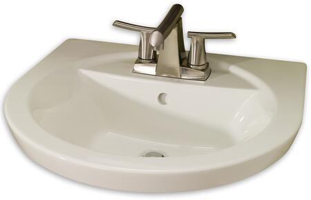 Tropic Petite Pedestal Bathroom Sink 0403