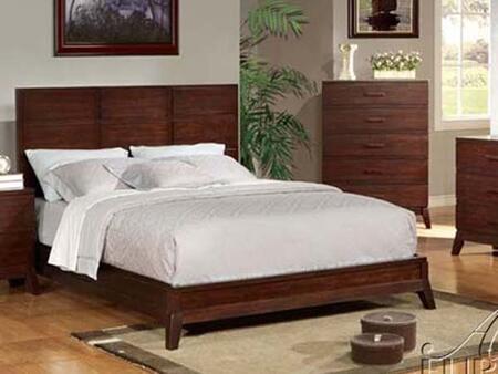 Acme Furniture 11200Q Adel Series  Queen Size Platform Bed