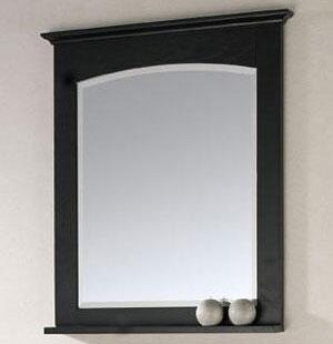 "Avanity Westwood-M30-X Westwood Series 30"" Mirror, with 1"" Beveled Edge, Wood Cleat for Hanging, and Wooden Shelf"