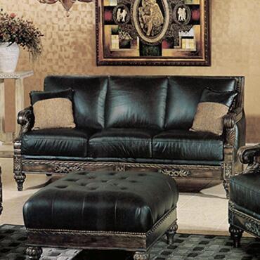 Yuan Tai MA8000S Solomon Series Chair Leather Sofa