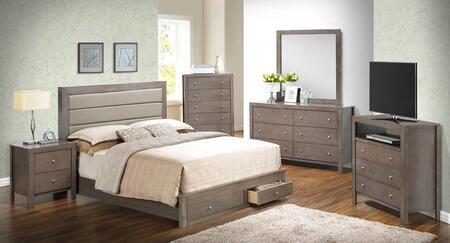 Glory Furniture G2405CQSBSET G2400 Queen Bedroom Sets
